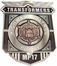 Transformers Highway Patrol Prowl MP-17 Coin Badge