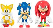 Sonic The Hedgehog 3-Inch Figure 3-Pack - Classic Sonic/ Knuckles/ Tails w/ Rings
