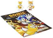 Sonic Collector Series Figure 2-Pack w/ Comic - Classic & Modern Tails