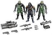 Acid Rain B2Five 1:28 Jungle Soldier Figure 3-Pack