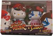 Hello Kitty Street Fighter 2 Figure Pack M.Bison and E.Honda