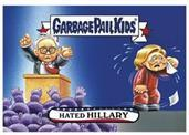 GPK: Disg-Race To The White House: Hated Hillary, Card 7