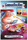 Garbage Pail Kids GPK: Disgrace to the White House 400 LB. Hack Earl #4