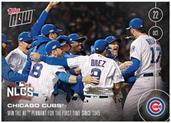 MLB Chicago Cubs First NL Pennant Since 1945 #615A 2016 Topps NOW Trading Card