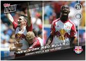 MLS NY Red Bulls #9 Topps NOW Trading Card