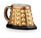 Doctor Who Dalek 3D Mug (Bronze)