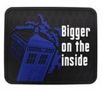 "Doctor Who TARDIS Bigger on the Inside 16"" x 13.5"" Rubber Mat"