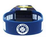 Doctor Who Rubber Wristband I Am TARDIS