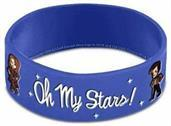Doctor Who Rubber Wristband Oh My Stars