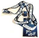 "Doctor Who ""Bad Wolf"" Lanyard with 3D TARDIS Charm"