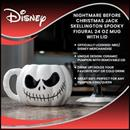 Nightmare Before Christmas Jack Skellington Spooky Figural 24 Oz Mug With Lid