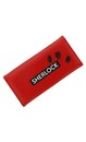 Sherlock Holmes Women's Clutch Wallet: I Am Sher Locked (Red)