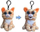 "Feisty Pets 4"" Plush Keychain, Princess Pottymouth Cat"