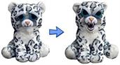 Feisty Pets Plush Lethal Lena Snow Leopard