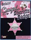 Cowgirl Sheriff Costume Badge