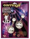 Disco Ball Costume Earrings