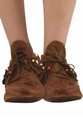 Hippie Native American Ladies Costume Moccasin