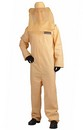 Bee Keeper Jumpsuit Costume w/Mesh Netting Hat Adult