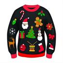 Ugly Christmas Icon Adult Sweater