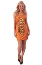 Reese's Peanut Butter Cups Costume Adult Tank Dress