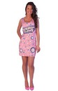 Bubble Yum Costume Original Adult Tank Dress