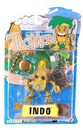 Tikimon Series 1 Indo Action Figure