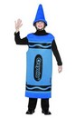 Blue Crayola Crayon Child Costume Tween