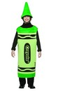 Green Crayola Crayon Child Costume Tween