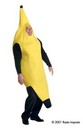 Deluxe Banana Costume Adult Plus