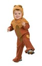 Wizard Of Oz Cowardly Lion Romper Costume Baby