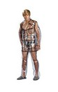 Bruno Clear Vinyl Suit Costume Adult