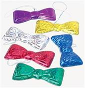 MYLAR BOW TIES (include 12 units)