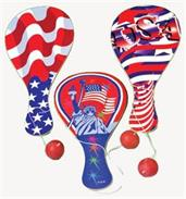 Patriotic Paddle Balls (Include 12 Units)