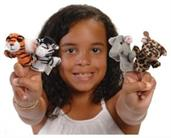 Wild Animal Finger Puppets (Include 12 Units)