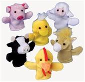 Farm Animal Finger Puppets (Include 12 Units)