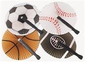 Sports Folding Fans (Include 12 Units)