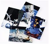 Space Station Memo Pads (Include 12 Units)