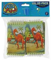 Dino Notebooks (Include 12 Units)