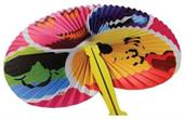 Smile Face Folding Fans (Include 12 Units)