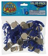 Metal Whistles W/Lanyards (Include 12 Units)