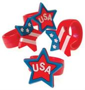 PATRIOTIC RUBBER RINGS (include 12 units)