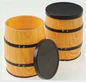 Mini Western Barrel Containers (Include 12 Units)
