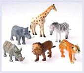 Wild Animals/4 Inch (Include 12 Units)