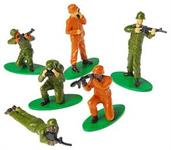 Army Figures (Include 12 Units)