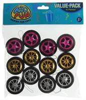 Designer Wheel Yo-Yos (Include 12 Units)