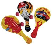 Firefighter Paddle Balls (Include 12 Units)