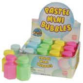 Pastel Mini Bubbles (Include 12 Units)
