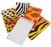 Animal Print Notebooks (Include 12 Units)