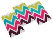 CHEVRON PATTERNED NOTEBOOKS (include 12 units)