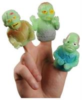 GID ZOMBIE FINGER PUPPETS (include 12 units)